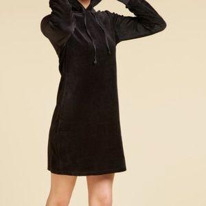 Juicy Couture Black Velour Dress